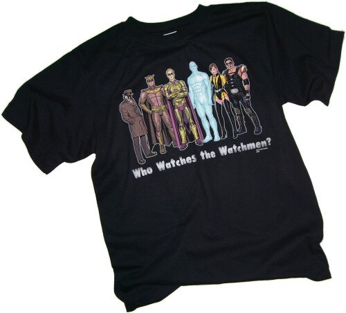 DC Comics Watchmen - Group T-Shirt, XX-Large