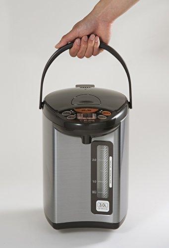 Zojirushi CD-WCC30 Micom Water Boiler & Warmer, Silver by Zojirushi (Image #3)