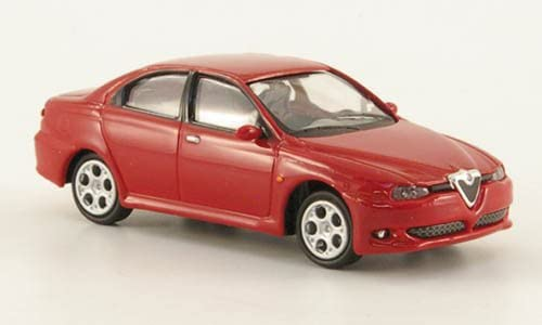 Modellauto Ricko 1:87 rot Alfa Romeo 156 GTA 2002 Fertigmodell