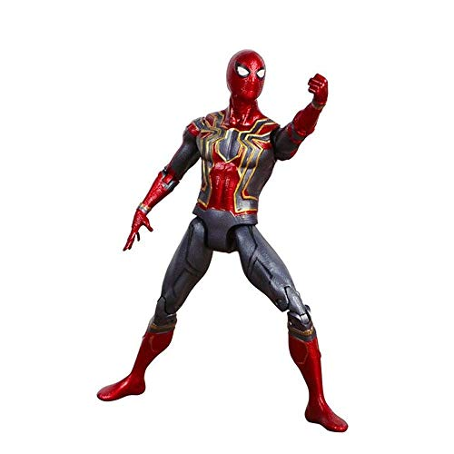 Miracle Spiderman Miracle Toy Avengers Infinite War Spider-Man PVC Action Characters LXJChildren's Venom Toys