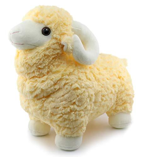 - Ice King Bear Realistic Stuffed Animal Sheep - Australia Lamb Plush Toy Big Size 14 Inch Tall