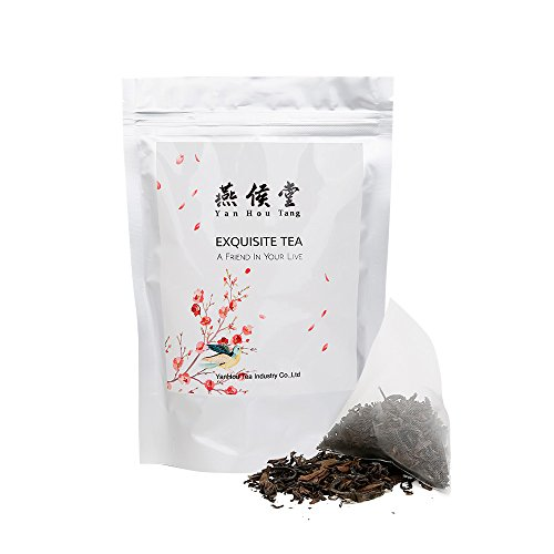 Yan Hou Tang - Taiwanese Oolong Tea Bags Dong Fang Mei Ren Oriental Beauty - 20 Counts Teabags Queen Victoria Naming Honey Flavor Sugar Free Relaxation and Stress Reduction Relief - Service Customer Gardens Victoria