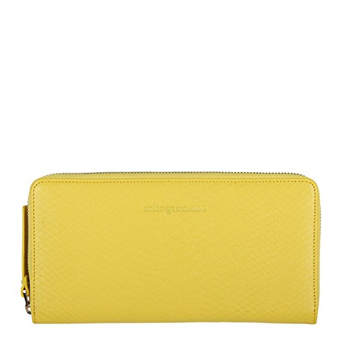 Arlington Milne Women's Large Wallet One Size - Yellow Snake by Arlington Milne