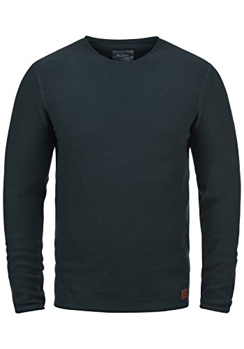 Rond 100 70230 Pull En Navy Encolure Coton over Tricot Pull Gabor Maille Blend Homme FzwOx4vgq