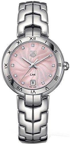 TAG Heuer Women's WAT1313.BA0956 Link Analog Display Quartz Silver Watch