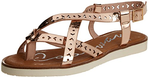 COOLWAY Poppy, Women's Sandals with Ankle Strap Pink (Salmon 870)