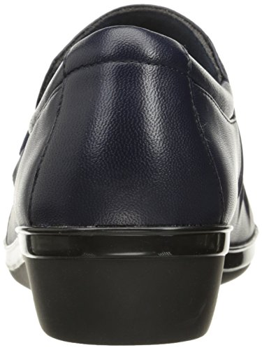 CLARKS Women's Everlay Heidi Slip-on Loafer Navy Leather many kinds of cheap online looking for cheap online low shipping fee cheap online 7HNSRMepDf