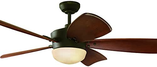 Harbor Breeze 60-in Saratoga Oil-rubbed Bronze Kit de ventilador ...