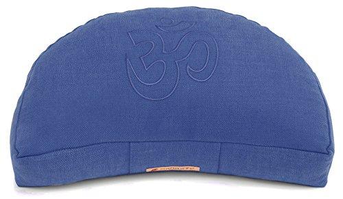 Yogishop Meditationskissen Darshan Neo - OM - Halbmond