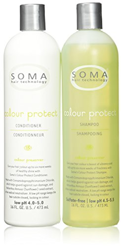 Price comparison product image Soma Hair Technology Colour Protect Shampoo & Conditioner 16oz