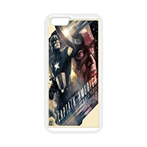DIY Printed Personlised Captain America 3 cover case For iPhone 6 4.7 Inch W5699893