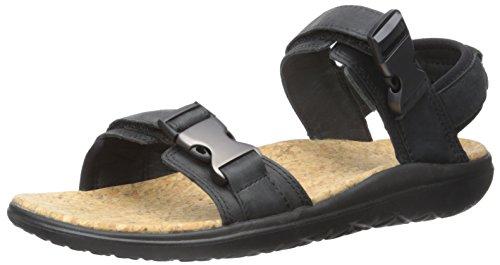 Teva Men's Terra-Float Universal Lux-M, Black 11 M - Cork Teva Sandals