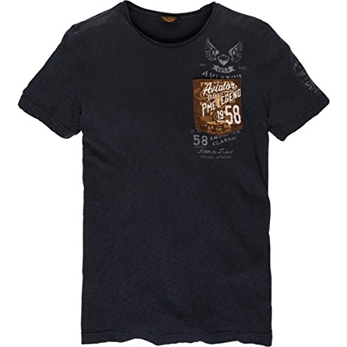 Pme legend weiche dunkle blaues t-shirt
