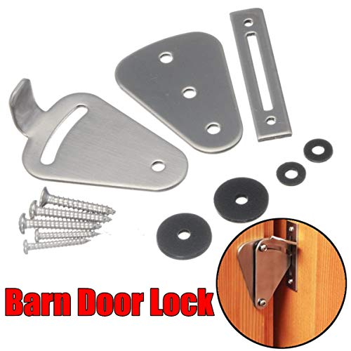 Barn Door lock Stainless Steel Mobile Special Door Lock by LOCHI