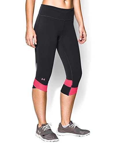 Under Armour Women's UA Fly-By Compression Capri Small Black