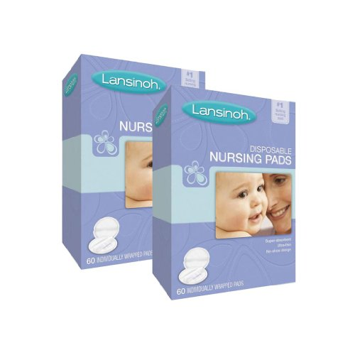 Lansinoh Disposable Nursing Pads, 120 Count