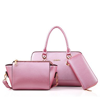 Las mujeres PU/Evento Casual Formal parte establece la bolsa,Azul cielo Blushing Pink