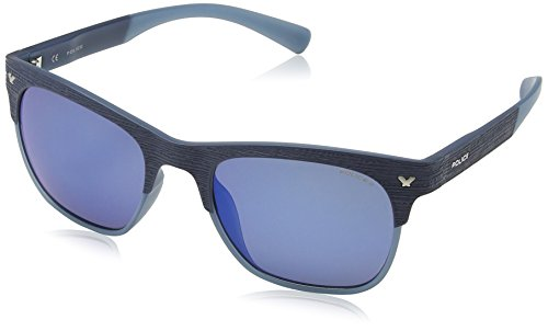 Blue 2 Wayfarer 2 Lens de Game Matt Semi Police Lunette Frame Mirror Game Dark Blue soleil 0gP4Ixq