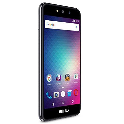 "BLU A5 Energy - 5.0"" Unlocked Smartphone with 4,000 mAh Battery -Grey"