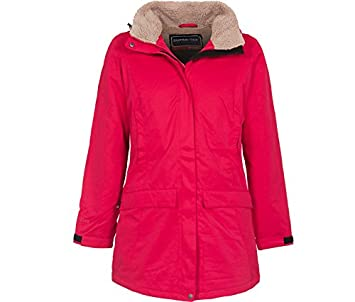 dda3bf56219543 Bergson Damen Outdoorjacke Outdoor Wintermantel Georgie  Amazon.de ...