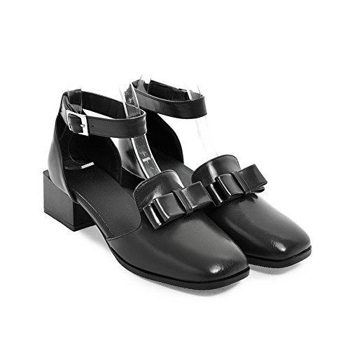 Urethane Closed No Sandals Sandals Weight Closure Light Toe BalaMasa Black Square Womens ASL04506 Toe BqEwqgvI