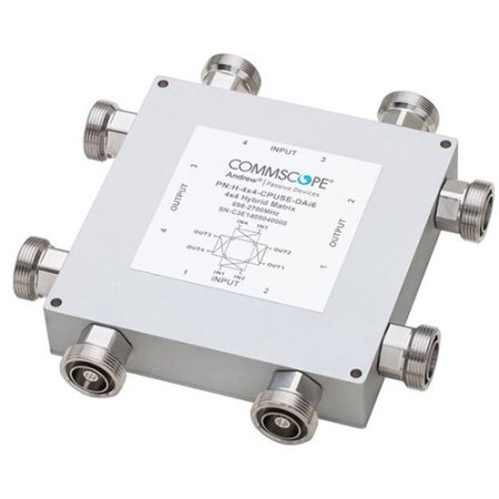 CommScope - H-4X4-CPUSE-DAI6 - 555-2700 MHz 4X4 High Power Hybrid Matrix by Commscope (Image #1)