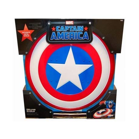 Captain America Deluxe Metal Shield, Adult Size