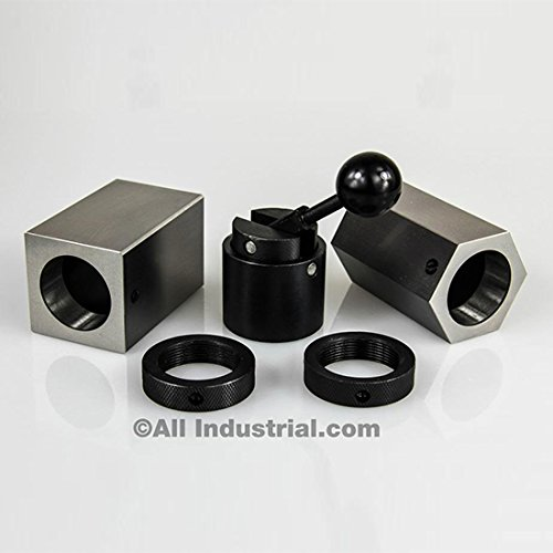 5C-CB 5C Collet Block Set - Hex Collet Block, Square Collet Block and Collet (Collet Block)