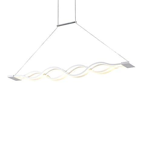 Lampadario a sospensione a LED, per tavolo da pranzo, lampadario per ...