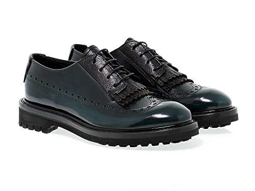 Lacets Cuir Vert Bd0678v Femme Chaussures Barracuda À C7qfnwT