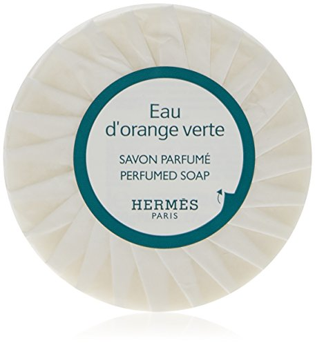 5 Hermes Eau d'Orange Verte Travel Sized Bath Soaps Individually Wrapped 8.5 oz (5 x 1.7 oz)