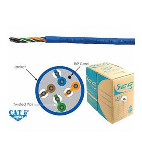 ICC ICC CAT5e CMR PVC Cable BLUE Electronics, Accessories, Computer