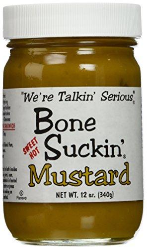 Bone Suckin' Sweet Hot Mustard 12oz (Pack of 2) (Sauce Mustard Sweet)