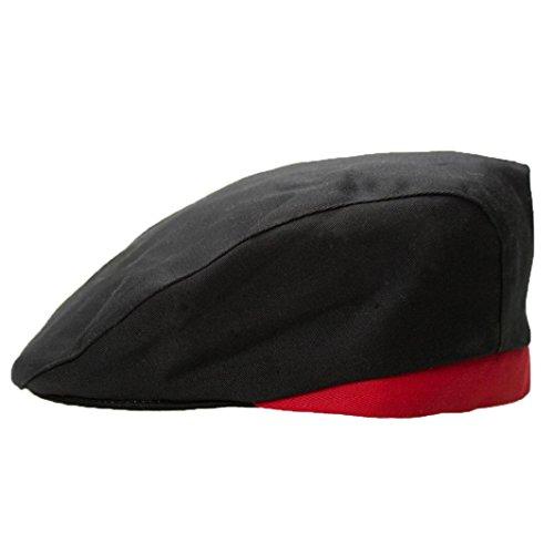 Chef Hats, Witspace Stylish Men Women Chef Hat Catering Baker Kitchen Cook Duckbill Beret Golf Caps (Black) (Cap Cook Womens)