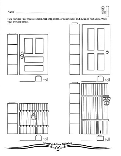 Number Neighborhood Activities Workbook (Preschool Math Workbook ...