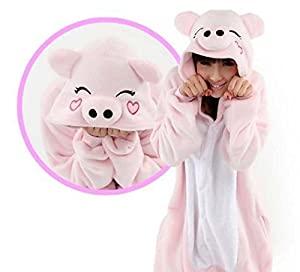 Unisex Adult Kigurumi Animal Onesie Pajamas Costume Cosplay Clothing Sleepwear Romper Outfit