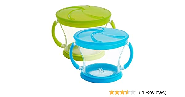 Colors May Vary Munchkin Snack Catcher 9-Ounce 12+ Months