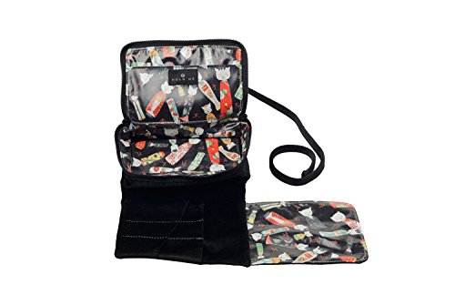 Hold Me Baby Bag - Ruby Woo - Small Makeup & Brush Organizer by Hold Me Bag