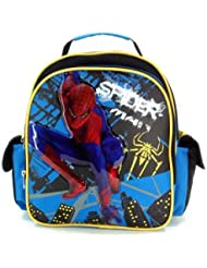 Small Size Blue Spiderman Backpack - Kid Size Spiderman Backpack