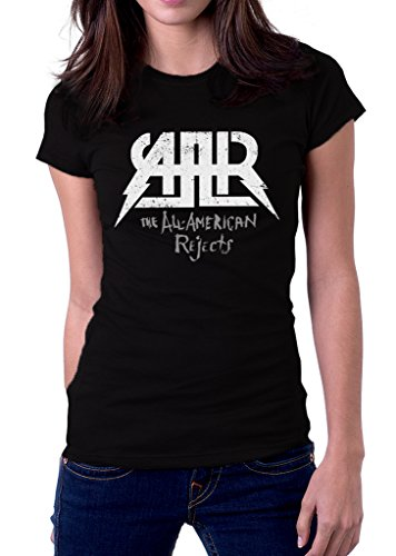 UD Gate The All American Rejects Music Band Logo Women's T-Shirt Small Black All American Rejects Apparel