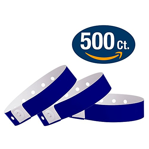Navy Blue Wristco Plastic Wristbands product image