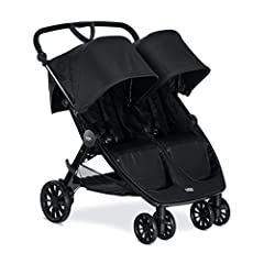 Color:Raven   Item Package Quantity:1 Cruising smooth is twice the fun with the B-Lively Double Stroller. Featuring an all-wheel suspension system for ultra-smooth rides, the B-Lively Double Stroller will not weigh you down thanks to its li...