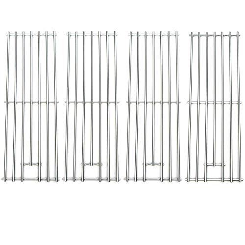 Direct store Parts DS104 (4-pack) Solid Stainless Steel Cooking grids  Replacement Kenmore, Brinkmann, Kmart, Saturn Gas Grill (4)