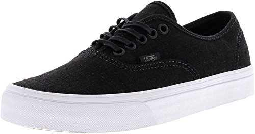 White Vans Black Hemp Authentic High Shoe Canvas True Ankle Skateboarding Linen S1pwvS