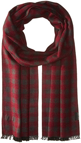 Ben Sherman Men's Woven Check Scarf