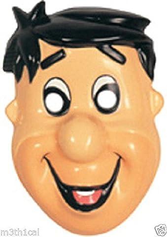 Fred Flintstone The Flintstones Plastic Child Cartoon Mask Costume Accessory - Flintstone Mask
