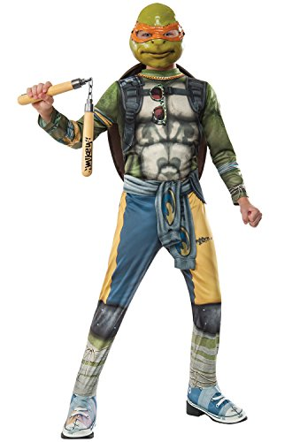 Rubie's Costume Kids Teenage Mutant Ninja Turtles 2 Value Michelangelo Costume