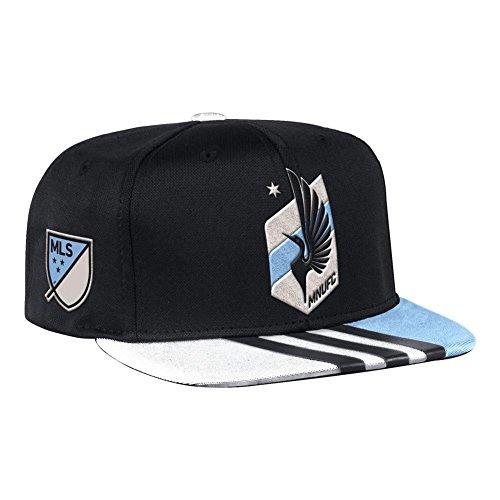 fan products of Minnesota United FC Hat Adidas Flat Brim Snapback Cap