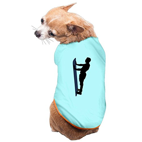 WUGOU Dog Cat Pet Shirt Clothes Puppy Vest Soft Thin Plate Support 3 Sizes 4 Colors Available ()