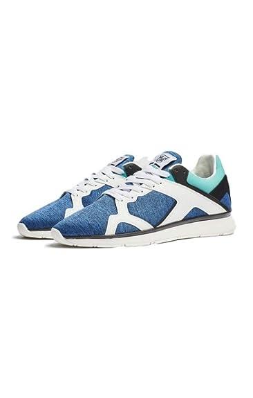 47e8f4cbc215 SIK SILK Men s Zonal Runner Blue Trainers  Amazon.co.uk  Shoes   Bags